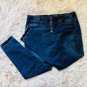 Universal Thread High Rise Skinny Jean / plus